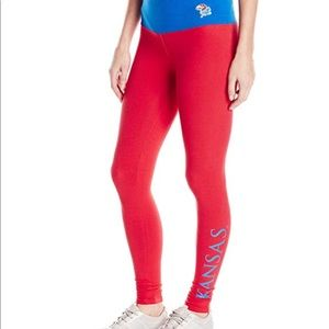 Pants - Loudmouth leggings University of Kansas
